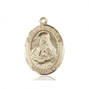 St. Frances Cabrini Medal - 83297 Saint Medal