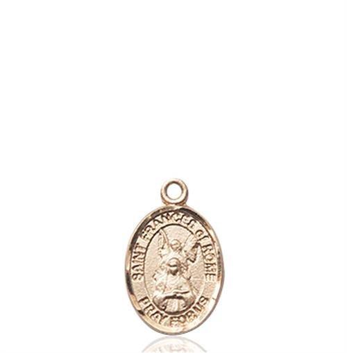 St. Frances of Rome Charm - 14 KT Gold (#85410)