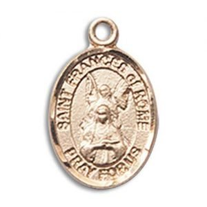 St. Frances of Rome Charm - 14 Karat Gold Filled (#85409)