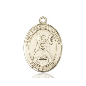St. Frances of Rome Medal - 84223 Saint Medal