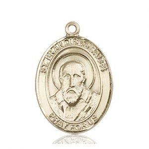 St. Francis De Sales Medal - 82009 Saint Medal