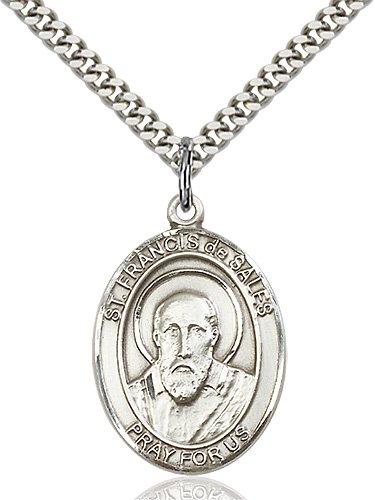 St. Francis De Sales Medal - 82010 Saint Medal