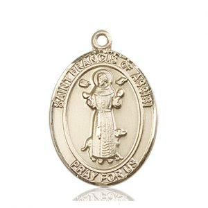 St. Francis of Assisi Medal - 82012 Saint Medal