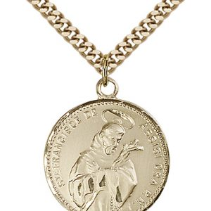 St. Francis of Assisi Medal - 81581 Saint Medal