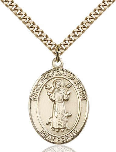 St. Francis of Assisi Medal - 82011 Saint Medal