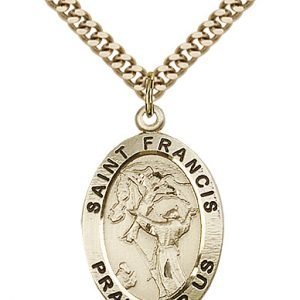 St. Francis of Assisi Medal - 83160 Saint Medal