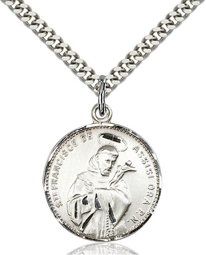 St. Francis of Assisi Medal - 19193 Saint Medal