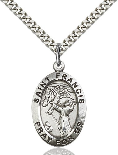 St. Francis of Assisi Medal - 83162 Saint Medal