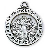 Religious Medal depicting St. Francis of Assisi