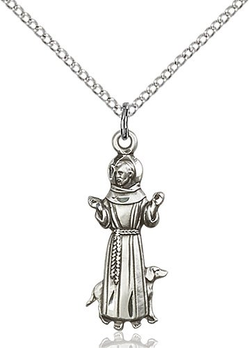 St. Francis Pendant - 83240 Saint Medal