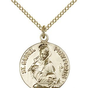 St. Gabriel of the Blessid Virgin Medal - 81703 Saint Medal