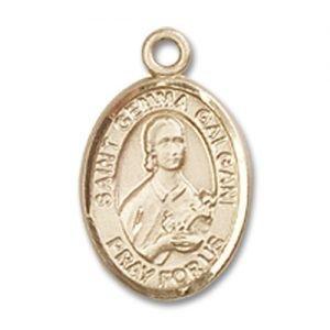 St. Gemma Galgani Charm - 14 Karat Gold Filled (#M0065)