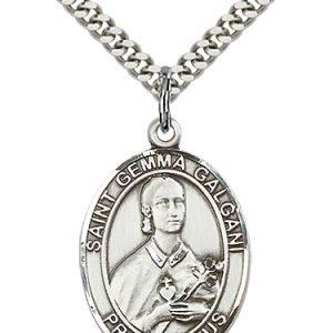 St. Gemma Galgani Medal - 19162 Saint Medal