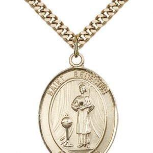 St. Genesius of Rome Medal - 82017 Saint Medal