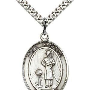 St. Genesius of Rome Medal - 82019 Saint Medal