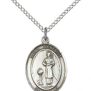 St. Genesius of Rome Medal - 83385 Saint Medal