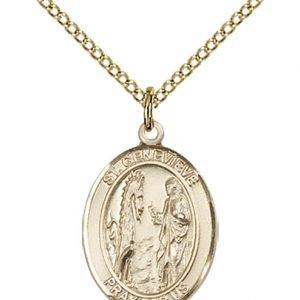 St. Genevieve Medal - 83392 Saint Medal