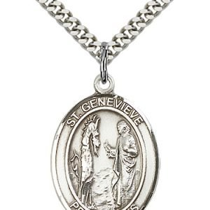St. Genevieve Medal - 82028 Saint Medal