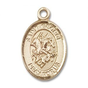 St. George Charm - 14 Karat Gold Filled (#84580)