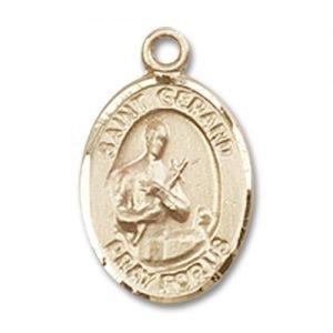 St. Gerard Majella Charm - 14 Karat Gold Filled  (#84586)