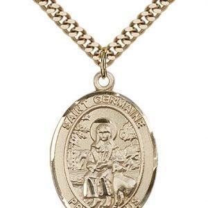 St. Germaine Cousin Medal - 82472 Saint Medal