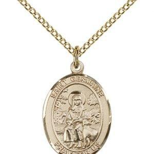 St. Germaine Cousin Medal - 83844 Saint Medal