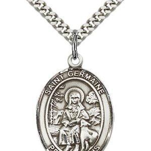 St. Germaine Cousin Medal - 82474 Saint Medal