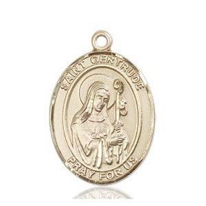 St. Gertrude of Nivelles Medal - 82494 Saint Medal