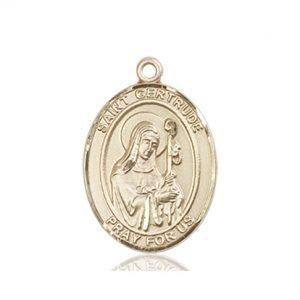 St. Gertrude of Nivelles Medal - 83866 Saint Medal