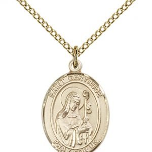 St. Gertrude of Nivelles Medal - 83865 Saint Medal
