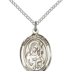 St. Gertrude of Nivelles Medal - 83867 Saint Medal