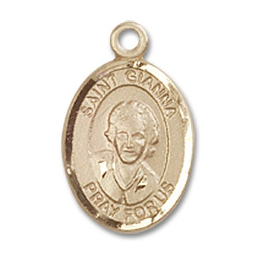 St. Gianna Charm - 14 Karat Gold Filled (#85295)