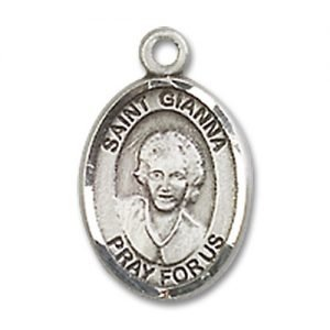 St. Gianna Charm - Sterling Silver