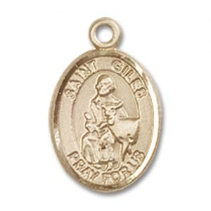 St. Giles Charm - 14 Karat Gold Filled (#85364)