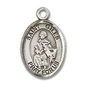 St. Giles Charm - Sterling Silver (#85366)