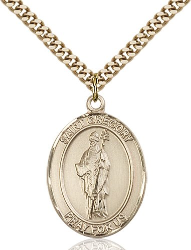 St. Gregory the Great Medal - 82044 Saint Medal