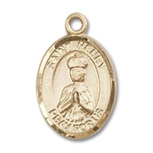 St. Henry II Charm - 14 Karat Gold Filled (#84595)