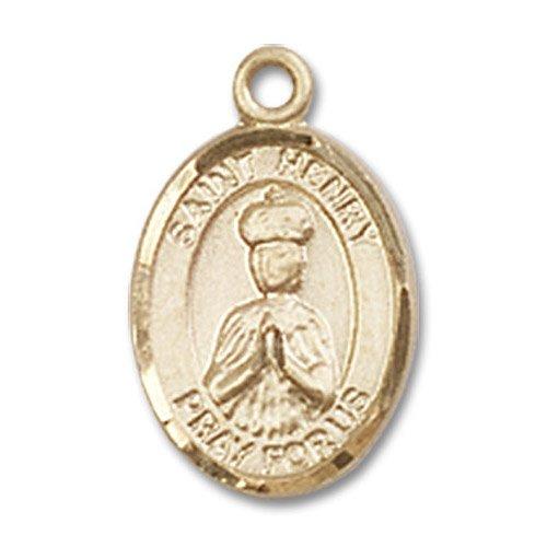 St. Henry II Charm - 14 Karat Gold Filled (#84595)