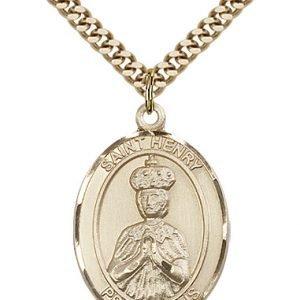 St. Henry II Medal - 82038 Saint Medal