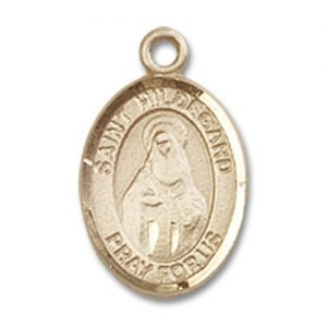 St. Hildegard Von Bingen Charm - 14 Karat Gold Filled (#85140)