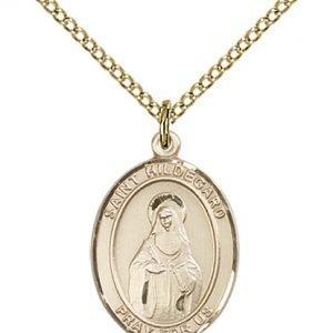 St. Hildegard Von Bingen Medal - 83952 Saint Medal