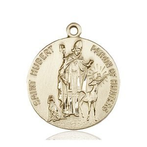 St. Hubert of Liege Medal - 81668 Saint Medal