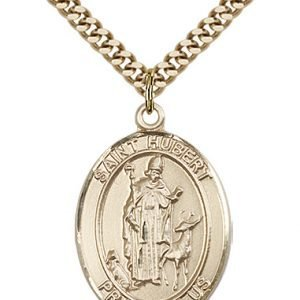St. Hubert of Liege Medal - 82035 Saint Medal