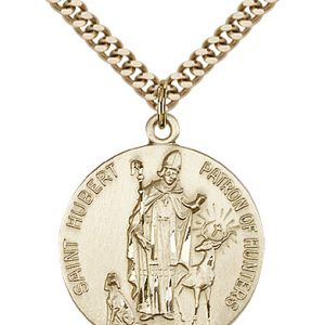 St. Hubert of Liege Medal - 81667 Saint Medal
