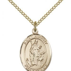 St. Hubert of Liege Medal - 83401 Saint Medal