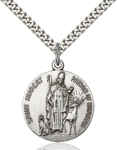 St. Hubert of Liege Medal - 19070 Saint Medal