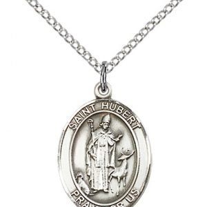 St. Hubert of Liege Medal - 83403 Saint Medal