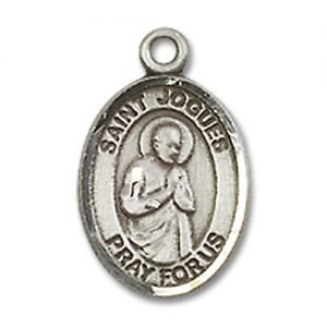 St. Isaac Jogues Charm - Sterling Silver (#85038)