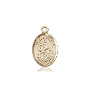 St. Isabella of Portugal Charm - 85112 Saint Medal
