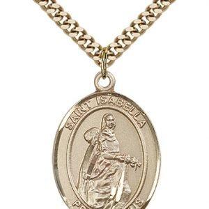 St. Isabella of Portugal Medal - 82550 Saint Medal
